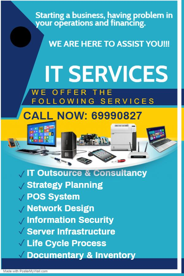 IT SERVICES AND CONSULTANCY
