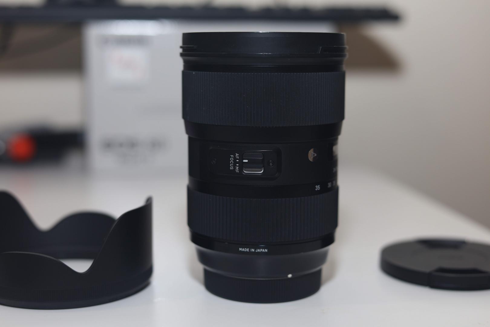 Sigma 24-35mm F/2 ART Lens for CANON DSLR